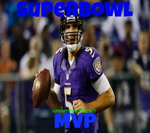Joe Flacco-Superbowl -XLVII -MVP