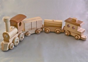 Playing -Trains