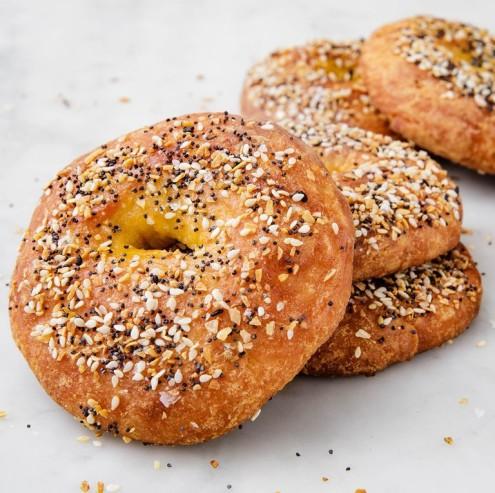Delicious- Keto -Bagels