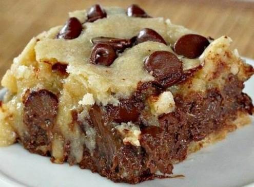 Chunky- Monkey- Brownies
