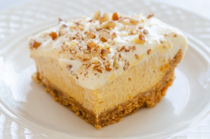 Pumpkin -Cheesecake- Bars