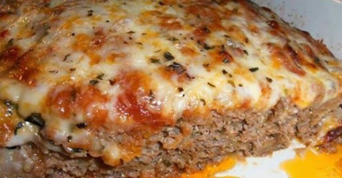 EASY- MADE -ITALIAN- MEATLOAF