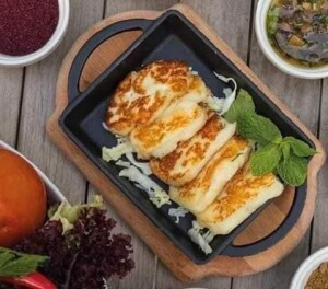 Grilled -Halloumi- Cheese