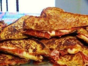 Pizza- Grilled- Cheese
