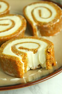 Carrot- Cake -Roll- with- Cream- Cheese- Filling