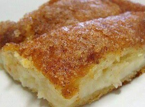 Crescent -roll- cheesecake