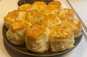 Homemade- buttermilk- biscuits