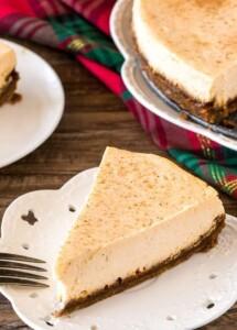 EggNog- Cheesecake